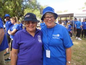 Margaret Simmonds & Pat Duncan