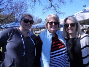 Bailey Harrison, Brenda Robb & Linsey Scott